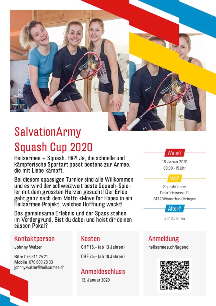Salvation Army Squash Cup 2020